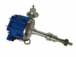 BBF Ford 351C 429 460 V8 Coil Hei Distributor 50,000 50k Volt w/ Blue Cap