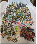 Teenage Mutant Ninja Turtles Mega Collection Lot  Action Figures 1988-1992 - $750.00