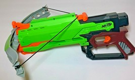 Hasbro NERF Zombie Strike Crossfire Bow Crossbow Dart Blasting 2013 - $17.95