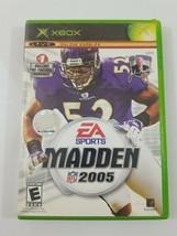 Madden 2005 Xbox EA Sports - $5.53