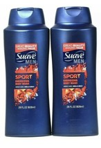 2-Pack Suave Men SPORT Energizing Body Wash - JUMBO 28 oz - Hint of Spice - $18.29