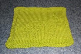Brand New German Shepherd Green Knit Dish Cloth 4 Cocker Spaniel Rescue ... - $10.39