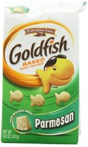 Pepperidge Farm Goldfish, Parmesan, 6.6-ounce bag (pack of 8) - $35.36