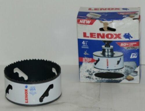 Lenox 3006868L Bi Metal 4 1/4 Inch Hole Saw T3 Technology Speed Slot
