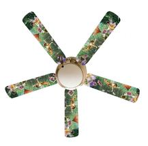 "Tinkerbell Fairies Faeries Forest 52"" Ceiling Fan with Lamp - $118.99"