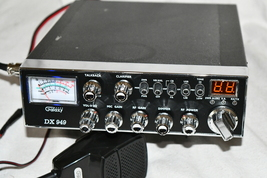 Galaxy DX949 CB Radio Powers On No channel Display Clean AS IS read first - $129.00