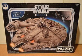 Hasbro Star Wars OTC Trilogy Collection Electronic Millennium Falcon New... - $197.99
