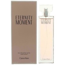 Eternity Moment by Calvin Klein, 3.4 oz EDP Spray for Women - $35.15