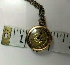 vtg WADSWORTH RELGIS HELBROS W & CO 15j 10k GOLD FILLED POCKET WATCH Swiss rare image 5
