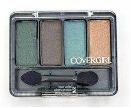 New Cover Girl Eye Enhancers Shadow #276 Sugar Coated 4-Kit Sealed Quick... - $4.49