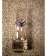 CORAZON TEQUILA--SHOT GLASS--TALL / SLENDER------FREE SHIP--VGC - $13.67