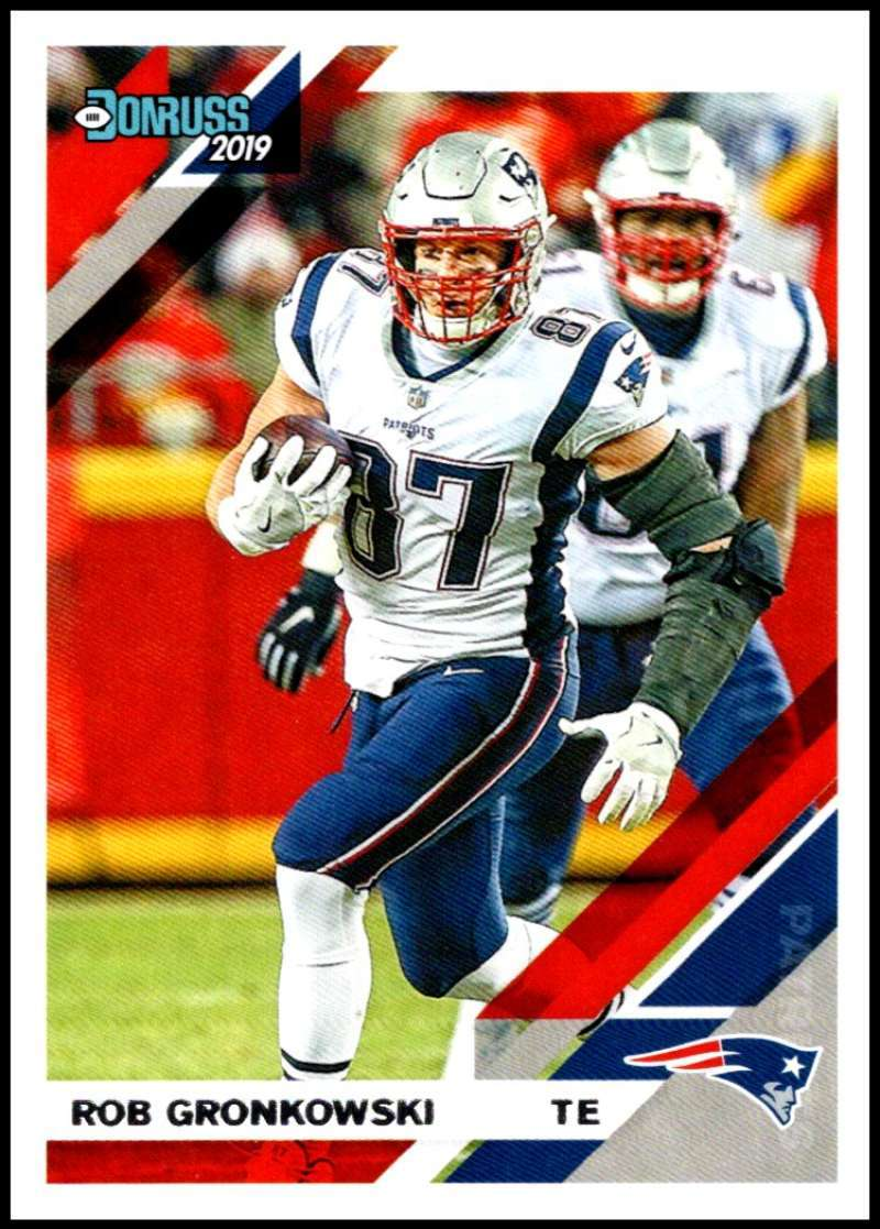 Primary image for 2019 Donruss #164 Rob Gronkowski NM-MT Patriots