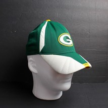 Vintage Green Bay Packers Cap Hat Authentic Sideline Reebok Green Gold F... - €19,96 EUR