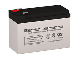 Oem Replacement For 12V 9Ah Apc BACK-UPS Es BE500R Battery, 12V 9AmpH - $19.79
