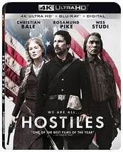Hostiles (4K Ultra HD+Blu-ray, 2018) - $13.95