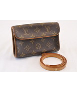 LOUIS VUITTON Monogram Pochette Florentine Bum Bag M51855 LV Auth sa1682 - $420.00