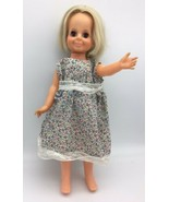 Vintage Ideal Toy Velvet Doll from Crissy Family Growing Hair Blonde 197... - $29.95