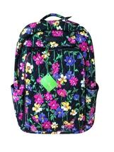 Vera Bradley Womens Laptop Backpack,Wildflower Garden - $84.95