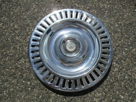 one 1955 1956 Chrysler Imperial 300 15 inch hubcap wheel cover beater - $37.01