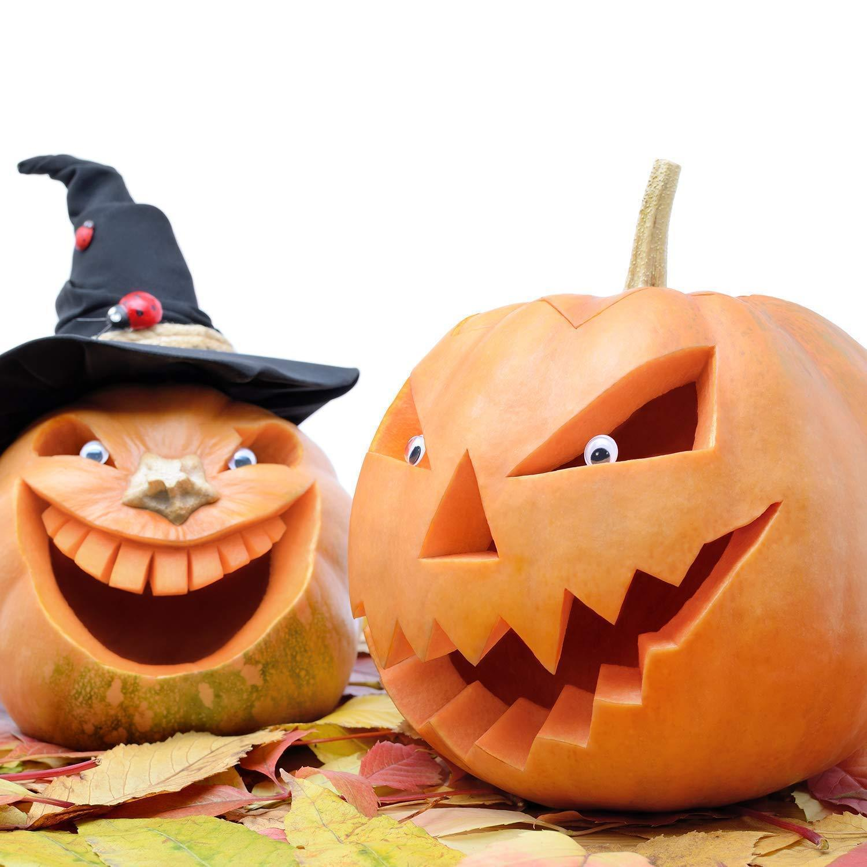 Halloween Haunters Pumpkin Carving Tool Kit 14 Piece 18 Cut Professional Jack O