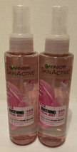 2 Garnier SkinActive Soothing Facial Mist with Rose Water, 4.4 oz - $16.83