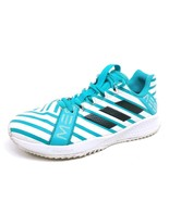 Adidas Unisex Kids 5 RapidaTurf Messi Soccer Shoes Blue BY3038 Low Top L... - $19.71