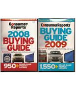 Consumer Reports Buying Guide 2008 & 2009 Best & Worst Appliances, Cars ... - $5.95