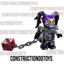 Lego Ninjago Ultra Violet Custom PAD UV Printed Minifigure - $13.85