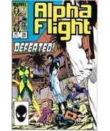 Alpha Flight Comic Book #26 Marvel Comics 1985 VERY FINE - $2.75