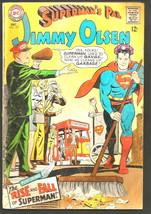 Superman's Pal JIMMY OLSEN #107 Silver Age DC COMICS 1967 VG+ range or b... - $14.26