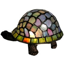 Tiffany-style Turtle Accent Lamp - £64.93 GBP