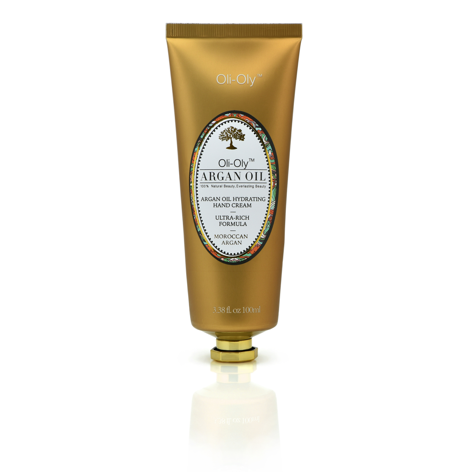 "Natural Hydrating Hand Cream with Moroccan Argan Oil 100 ml ""Sweet"" - Oli-Oly"