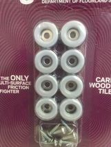 ROUND MAGIC SLIDER 8 PACK - 3/4inch 19mm SCREW  SEALED NEW  image 3
