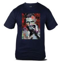 Conor McGregor Martial Art Notorious Champion MMA Navy Blue Mens Tshirt - $15.99+