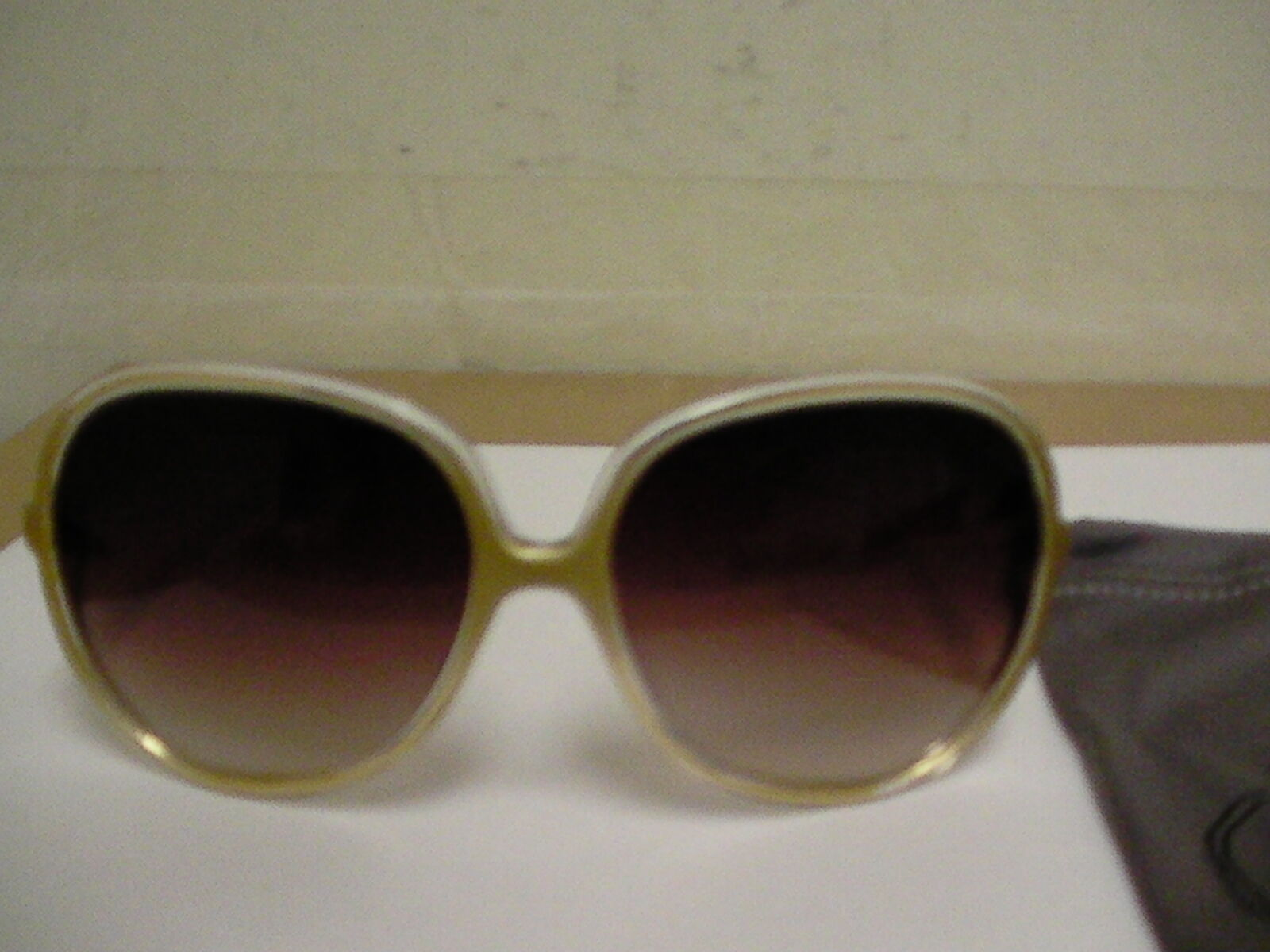 Oliver people women sunglasses Sofiane oval clear gold frame made in japan image 2