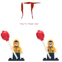 2pcs/set Georgie Denbrough - Horror Pennywise Themed Minifigure Gift Toy - $5.99