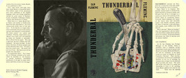 Fleming-Facsimile dust jacket for 1st 1961 UK edition of THUNDERBALL - $21.56