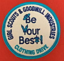 Boy Scouts & Goodwill Industries clothing drive BE YOUR BEST patch 3 in #3377 - $14.39