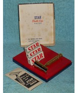 1960 Star Safety Razor Set W NOS Blades - $40.00