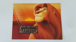 Disney 4 Lithograph Litho Picture Print Mat Lion King Special Edition - $14.84