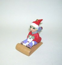 1998 Hallmark Ornament Maxine on Sled - $13.45