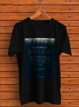 Quotes Stephen Hawking T- Shirt Men's Black - $15.00+