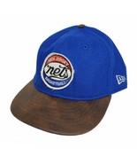 New Jersey Brooklyn Nets Mens New Era Heritage 7 1/2 HWC Hardwood Classi... - $29.99