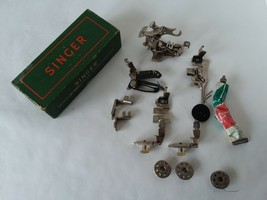 Misc Vtg Singer Sewing Machine Attachments Accessories Including 160854 & 160359 - $37.87 CAD