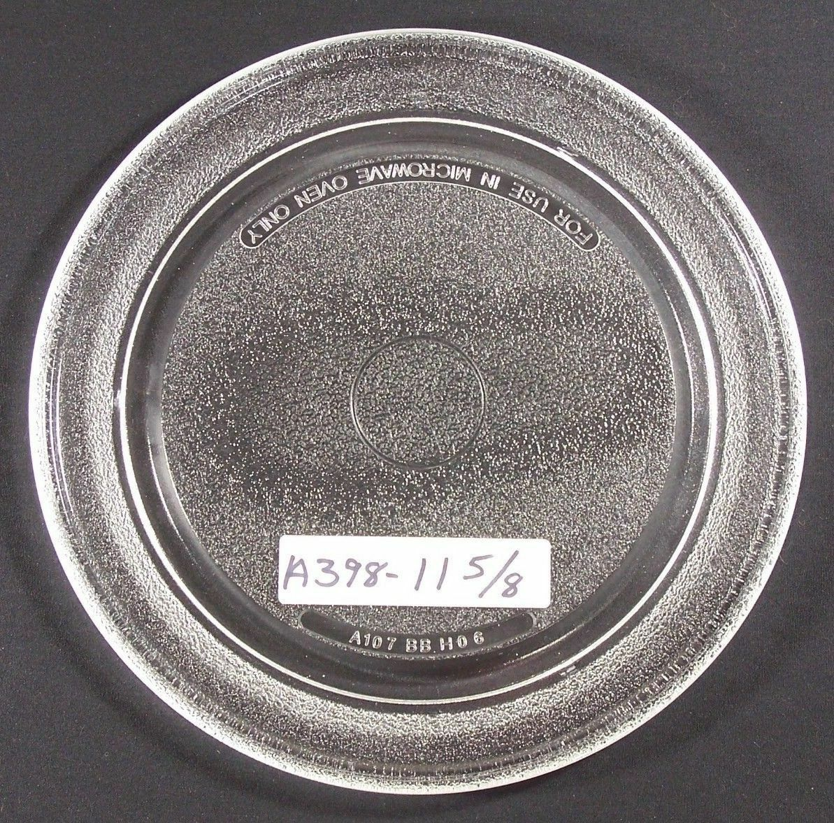 "Primary image for Sharp, GE, 11 1/2"" - 11 5/8, (A107) Microwave Glass turntable plate (9"" track)"