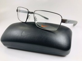 New NIKE 8177 070 Gunmetal Eyeglasses 55mm with NIKE Case - $113.80