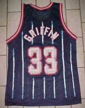 Eddie Griffin #33 Houston Rockets NBA 1996-2002 Champion Blue Red White ... - $321.75