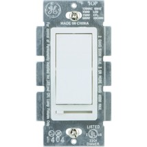 GE(R) 10464 Single Pole Rocker-Style Dimmer - $33.00