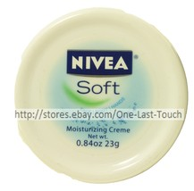 Nivea Moisturizing Creme/Lotion Soft Purse/Travel Size Face+Body Hands .84 Oz - $2.95