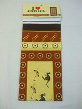 Tea Towel 100% Cotton Kangaroos Design Souvenir Gift with Love from Aust... - $9.89